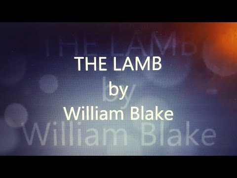 The Lamb by William Blake