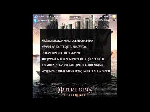 Maitre gims ft Maska - où est ton arme instrumental avec parole