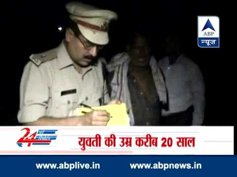 Woman body  found hanging from tree in Aligarh