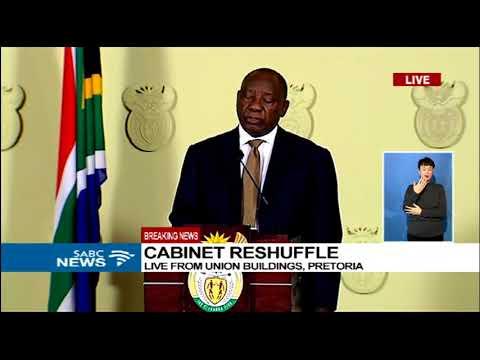FULL SPEECH: President Cyril Ramaphosa's new cabinet