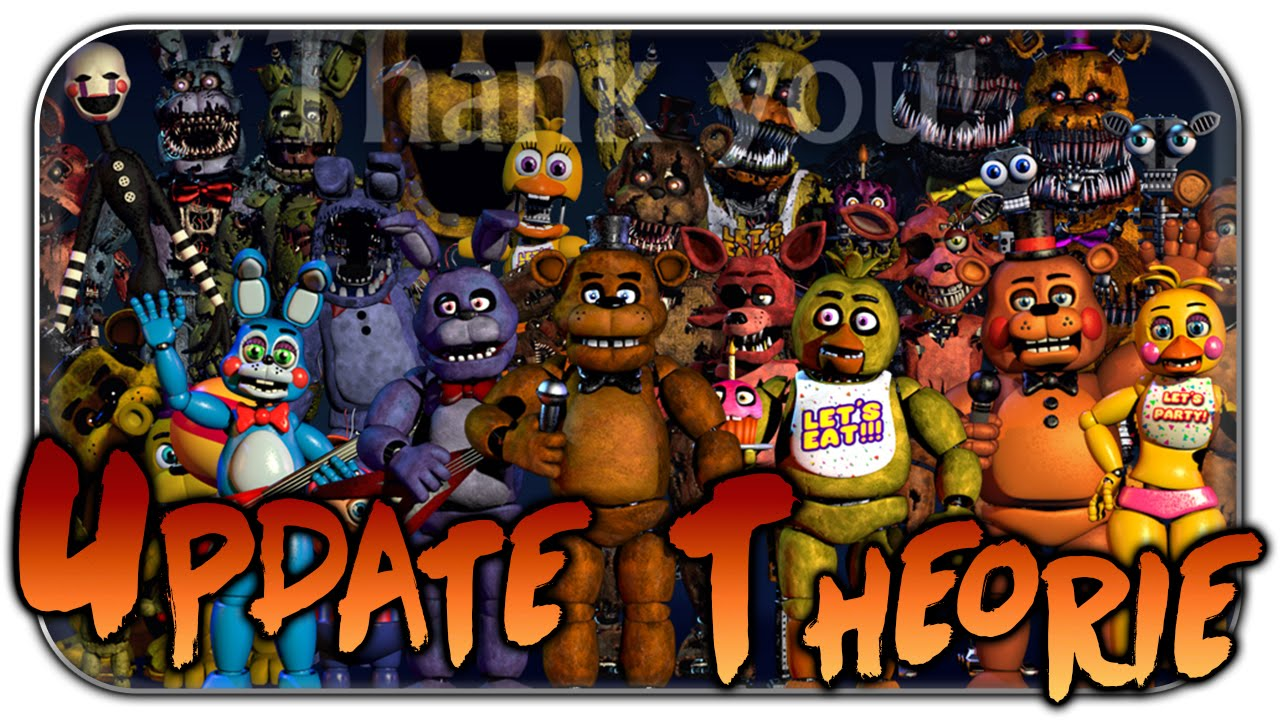 Scottgames fnaf 5 confirmed five nights at freddys world fnaf