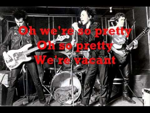 Pretty Vacant (Sex Pistols) - Instrumental with lyrics