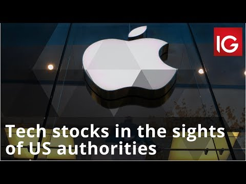 Tech stocks in the sights of US authorities