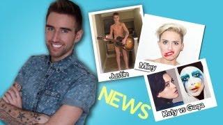 KATY PERRY vs LADY GAGA | Sexy MILEY CYRUS?? | Naked JUSTIN BIEBER!!!!