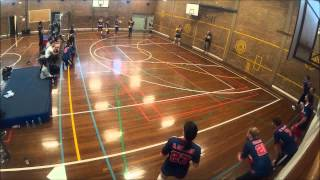Victorian Dodgeball League Round 2: Glenroy Golden Cocks vs Geelong Wolfpack