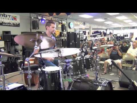 Jeff Jones Drum Solo from a Drum Clinic @ The Music Store in Tulsa, OK