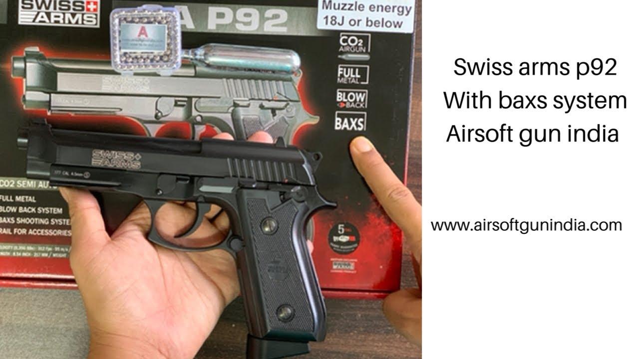 Swiss arms SAP92 co2 Air gun with BAXS system