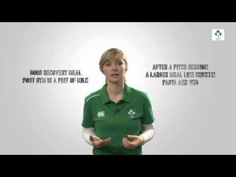Irish Rugby TV: Ask Nora - Recovery Nutrition
