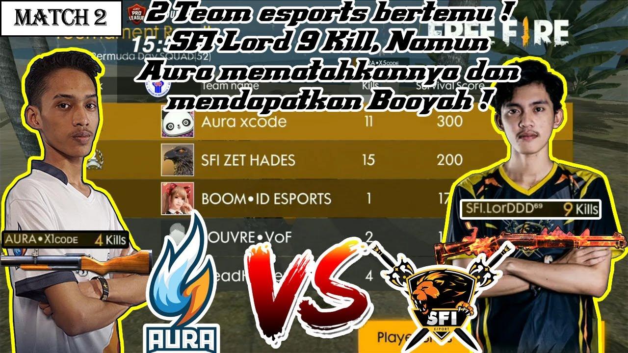 Tournament 600jt Dunia Games Pro League Week 5 Match 2 Garena Free Fire Indonesia