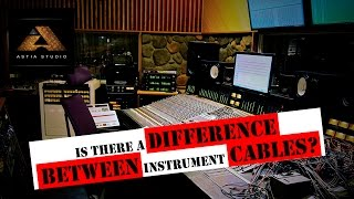 Is there a difference between instrument cables?