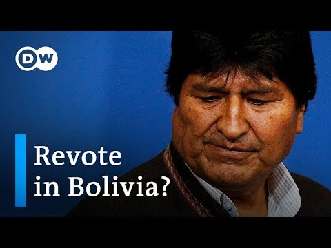 Bolivian President Morales Calls For New Elections After OAS Audit   DW News