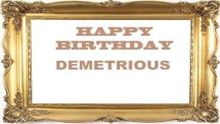 Demetrious   Birthday Postcards & Postales - Happy Birthday