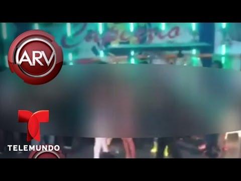 Sexo oral en vivo en una discoteca de Veracruz provoca su cierre | Al Rojo Vivo | Telemundo