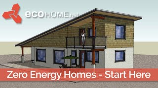 Diy Passive Solar House Plans To Passive House Design Details - Ecohome Green Building Guide Part 1