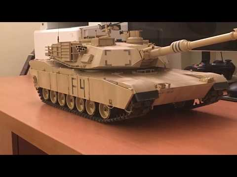 Building of the 1/16 RC M1A2 Abrams TAMIYA - part 4