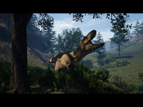 The Isle: Albertosaurus Documentary -Humble Game- Pt.1