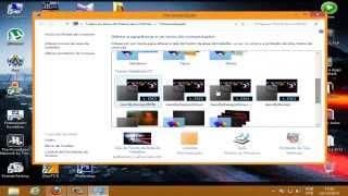 Como personalizar o Windows 8 + Pack Temas. (HD)