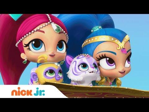Shimmer and Shine Theme Song | Nick Jr. | Music