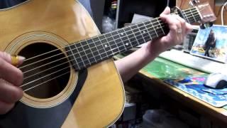 ふきのとうの「やさしさとして想い出として」のギター弾き語りです。197...
