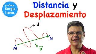 Distancia y desplazamiento. Curso de física - Clase 2