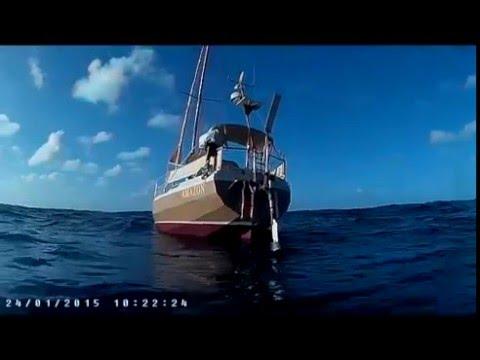 Travesía del Atlántico en solitario. Una estela de 10 000 millas