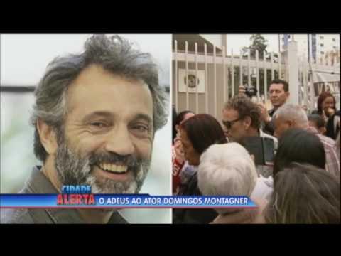 Corpo do ator Domingos Montagner é enterrado em São Paulo