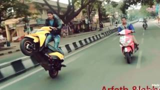 Amazing Bike stunts Dio | Dio Stunts | talentdunia.in