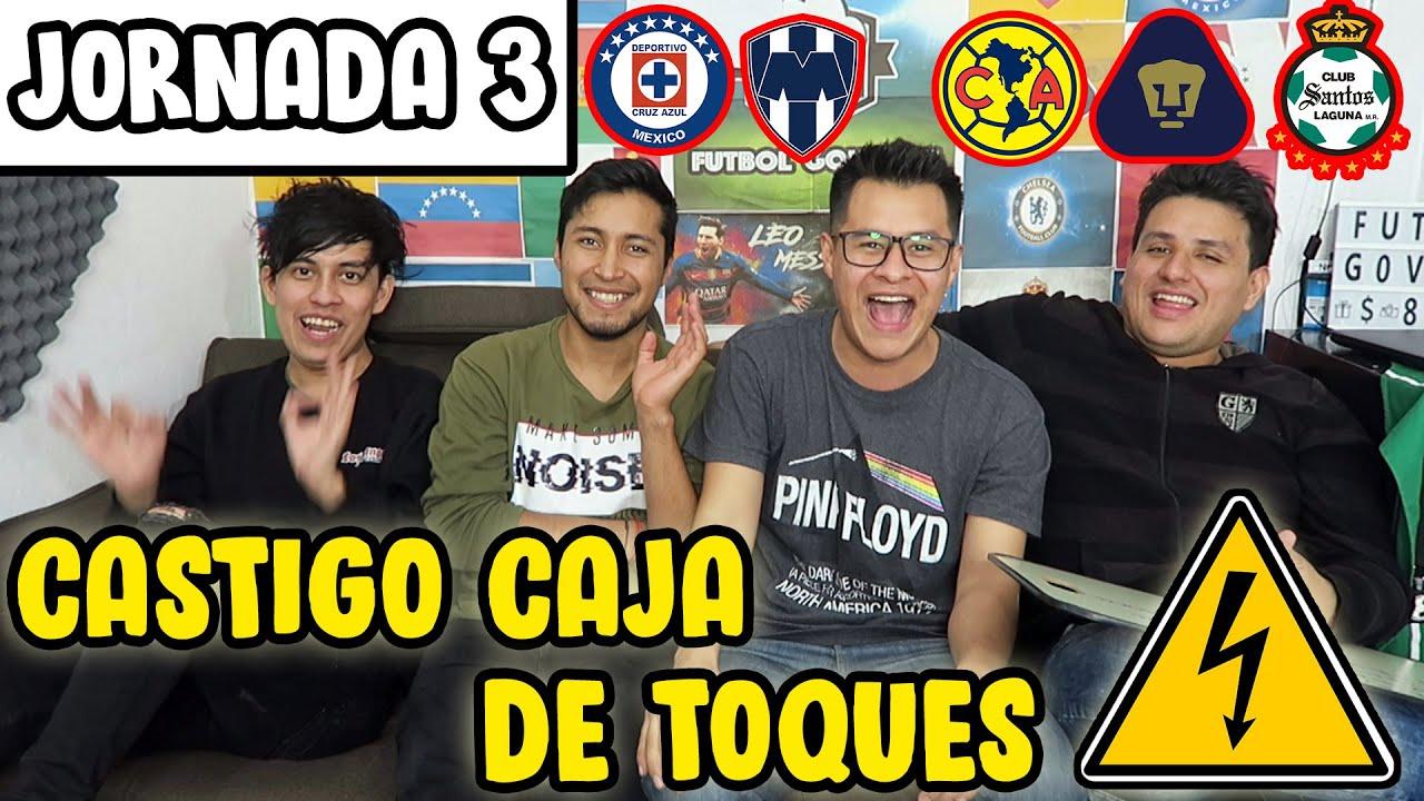 PRONÓSTICOS JORNADA 3 LIGA MX | CASTIGO ELÉCTRICO
