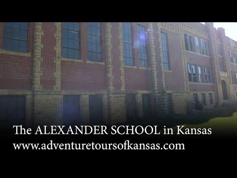 Adventure Tours of Kansas  presents the ALEXANDER SCHOOL in Kansas