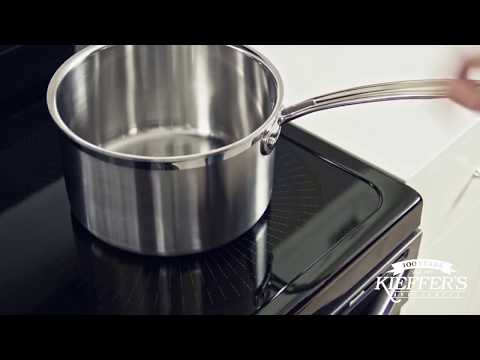 Frigidaire - Proper Cookware Placement for Induction Cooktop