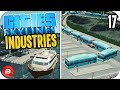 Cities: Skylines Industries - Bus Conga Line! #17 (Industries DLC)