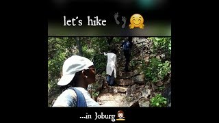 HIKING IN JOHANNESBURG (an adventure with my university friends) Walter Sisulu Botanical gardens