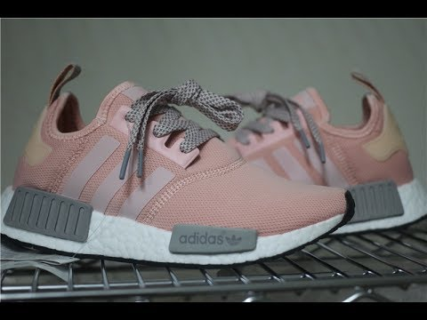 794356b684fa1 Adidas NMD R1 Runner Vapor Pink Light Onix Grey Offspring BY3059 ...
