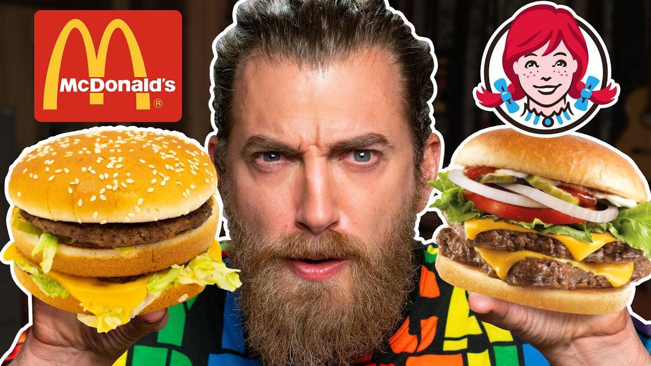 Download McDonald's vs. Wendy's Taste Test   FOOD FEUDS