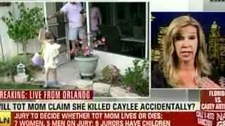 Anne Bremner discusses Caylee death