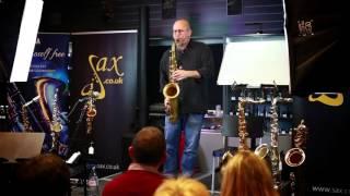 Jeff Coffin - Sax.co.uk Masterclass Peformance