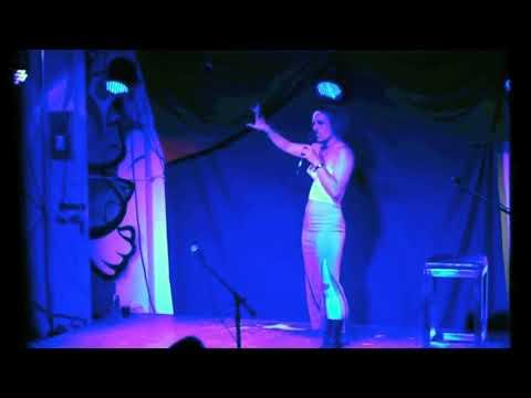 Singing Moon river by Henry mancini at Cabaret Sashimi Sydney