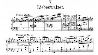 Moritz Moszkowski:  Liebeswalz…