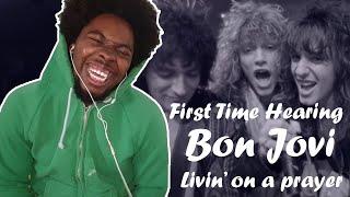 FIRST TIME HEARING Bon Jovi - Livin' On A Prayer REACTION