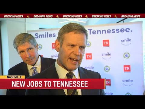 New Jobs Coming To Tennessee