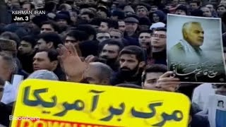 Iranians Take to the Streets After Soleimani's Death