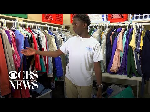 Bama, Rob & Heather - C'mon Get Happy: 8th Grader Helps Classmates Who Need Clothes, Supplies!