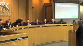 Arlington City Council - FIRST READING of New Ordinence to BAN RED-LIGHT CAMERAS!