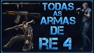 Como desbloquear todas as armas do Resident Evil 4 - PS2