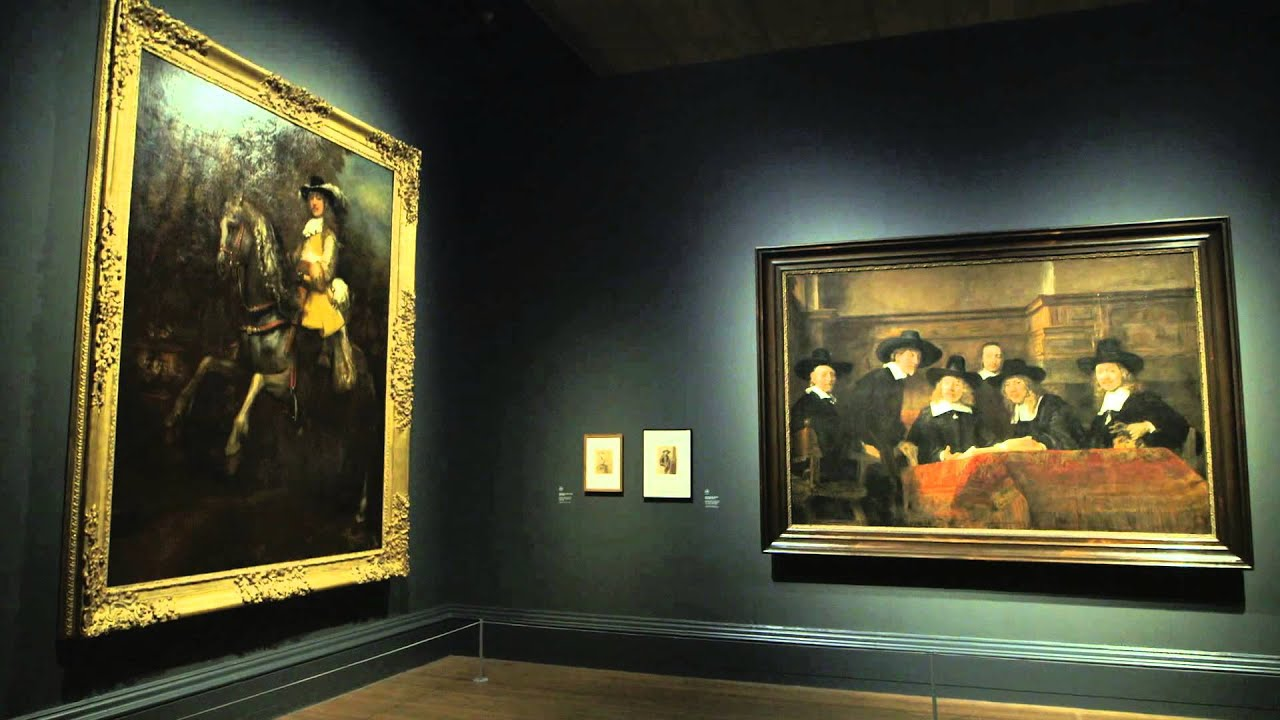 Exhibition Screen Rembrandt National