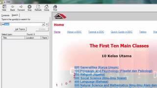 Tutorial Cara Mencari Nomor Klasifikasi Buku di e DDC dengan Mudah