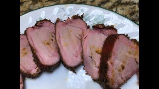 Char Crust Pork Tenderloin