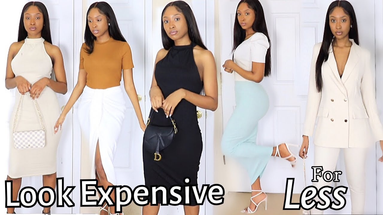 Zara x Boohoo Summer Clothing Haul | How To Look Expensive On A Budget 2021