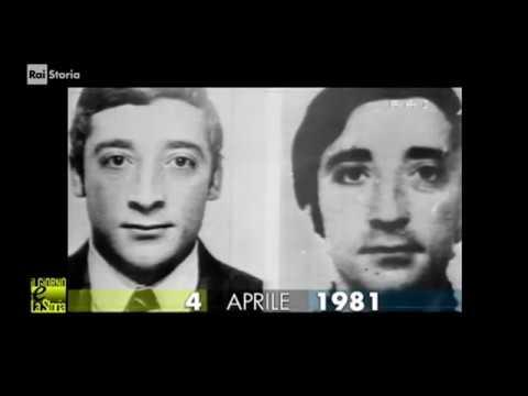 Calendario Mario Moretti.1 04 Aprile 1981 Milano Arresto Di Mario Moretti Brigatista Rosso Rapimento Moro