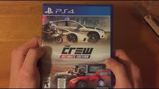 the Crew: Ultimate Edition Unboxing (PS4)